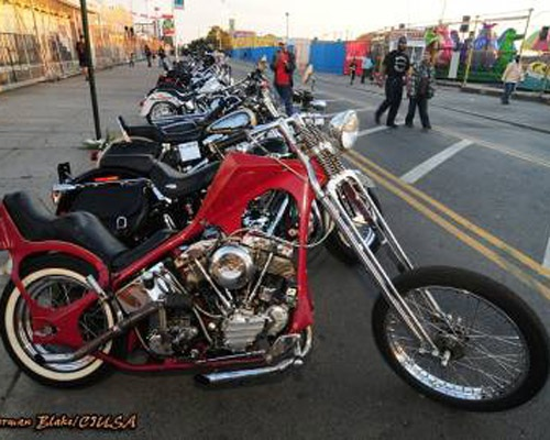 at the 25th Annual Coney Island Tattoo and Motorcycle Show this Sunday.